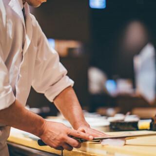大切な方のおもてなしに…当店自慢の四季折々の日本料理