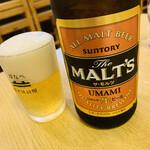 130512046 - 瓶ビール(モルツ)
