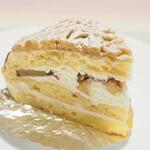 スイス・ドイツ菓子 こしもと - モンブラン(和栗)