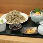 Tsuchiya - ネギトロ丼セット 中盛☆