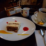 自家焙煎 とがし喫茶室 - チーズケーキと珈琲