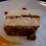 自家焙煎 とがし喫茶室 - マスカルポーネのチーズケーキ