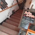 成田家雅殿 - 201205 成田家雅殿 階段を上がります.jpg