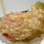 天ぷらと寿司18坪 - 天ぷら6種盛り合わせ@980円+税 トマト
