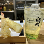 天ぷらと寿司18坪 - 白州ハイボール@680円+税