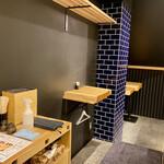 天ぷらと寿司18坪 - 内観