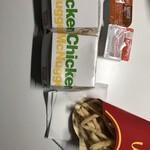 マクドナルド - ナゲットとポテトのエルサイズ