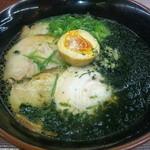 13053842 - アオサたっぷりチャーシュー麺(880円)