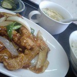泰陽軒 - 料理写真:酢豚定食