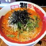 麺や天鳳 - 上空から 白ごま坦々麺