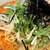 麺や天鳳 - 白ごま坦々麺並