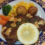 レストラン山水 - 黒毛和牛(A5ランク)フィレ肉のステーキ(120g)