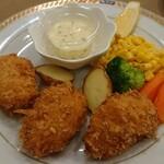 レストラン山水 - たらば蟹クリームコロッケ