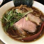 麺処 夏海 - 清湯醤油