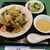 麗華 - 料理写真:具沢山の揚げそばセット