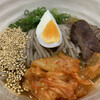 六盛 - 料理写真:冷麺(ハーフサイズ)