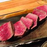 130538839 - 川岸牧場産神戸牛 シャトーブリアンのステーキ