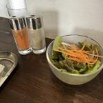 king - 料理写真:セットのサラダ