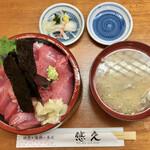130541856 - 「マグロ丼」@1780