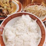 広州市場 - 油淋鶏わんたん定食