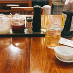 広州市場 - ここのラー油は辛くない