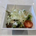 肉が旨いカフェ NICK STOCK - サラダ
