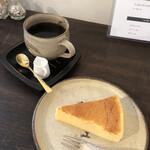 Cafe Chienomi - チーズケーキとモカシダモ