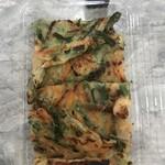 キムっち - 料理写真:海鮮野菜チジミ400円縦