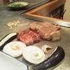 たくみ - 料理写真:タンステーキと安いほう(笑)のステーキ肉(2人前)ほか