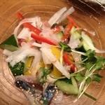 とりしん - 海鮮水キムチ