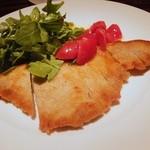 レストラン ワイワイ - フジザクラポークの薄切りカツ 南アルプスの野菜と共に1,200円
