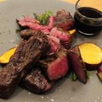 炭火料理と町の食堂酒場 ヤマネコ - 料理写真:鳥取和牛炭火焼き(*^ω^*)