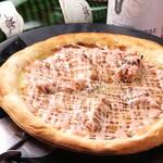 イタリアンキッチン Sa - 照り焼き明太ピザ