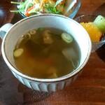 朴 - 野菜たっぷりのスープ