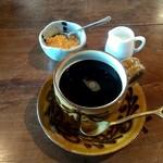朴 - +200円の穀物コーヒー