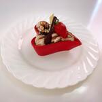 ボンマルシェ - ハートの器が可愛いケーキ