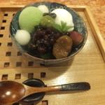 CAFE HAYASHIYA - 抹茶あんみつ