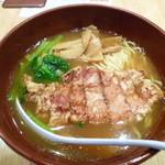 万世拉麺 - パーコー麺¥790