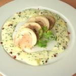 ラ・フェスタ - 彩鮮やか、若鶏のガランティーヌ