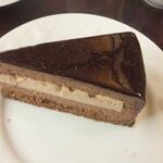 椿屋珈琲店 - ベルギーチョコレートケーキ