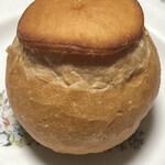 パンテコ - フランスパン「シャンピニオン」@70円