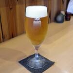 片町 弥ひろ - 一番搾り生ビール