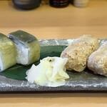 Katamachiyahiro - さば寿司、和牛しぐれいなり寿司