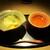 もと井 - 料理写真:ピーチパインアイスクリーム、マンゴーにミントゼリー。 蕎麦茶。     2020.05.09