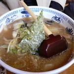うちの駅 桃園 - 味噌ラーメン(700円)