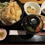 食彩美酒 やしま - 料理写真:天丼