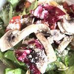 ミルコローネ - 野菜たっぷりグリーンサラダ。
