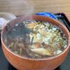 安比丸大食堂 - 料理写真:オオシメジそば¥700