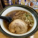 ラーメンハウスアオキ 富岡店 - 料理写真:醤油ラーメン ¥780