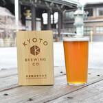 ディアンドデパートメント - 「京都醸造」さんの生ビールも飲めます。(瓶のご用意もございます)